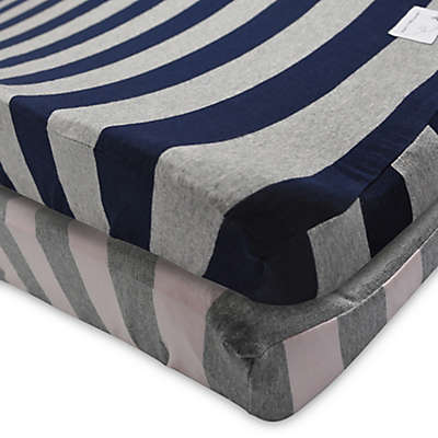 Burt's Bees Baby® Wide Stripe Organic Cotton Changing Pad Cover