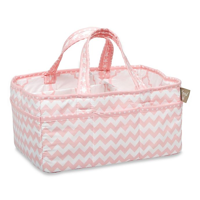 Alternate image 1 for Trend Lab® Pink Sky Diaper Caddy