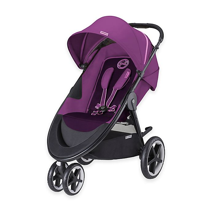 Alternate image 1 for CYBEX Gold Eternis M3 Stroller in Grape Juice