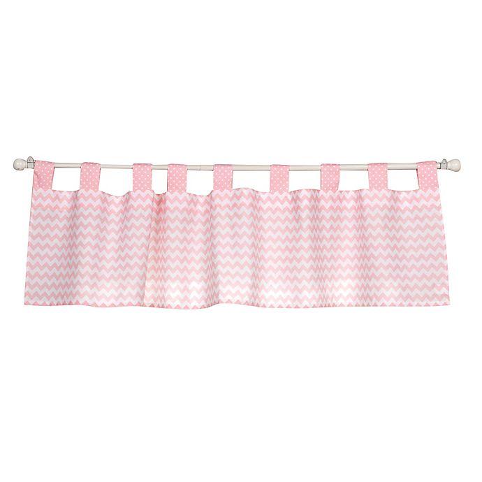 Alternate image 1 for Trend Lab® Pink Sky Window Valance