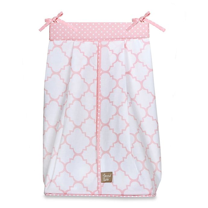 Alternate image 1 for Trend Lab® Pink Sky Diaper Stacker