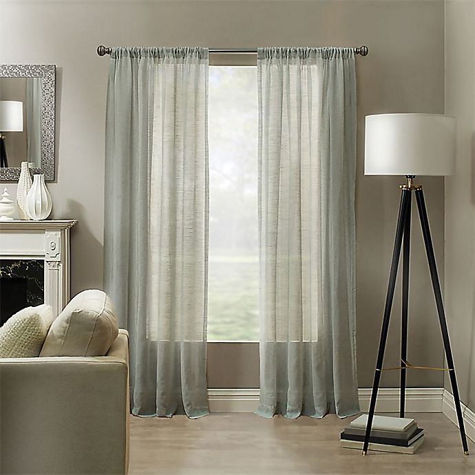 Alternate image 1 for Linden Rod Pocket Sheer Window Panel (Single)