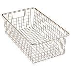 InterDesign® Forma™ Cabinet Binz™ 16.25-Inch x 9.5-Inch x 5.25-Inch Metal Bin