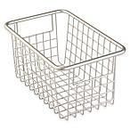 InterDesign® Forma™ Cabinet Binz™ 10.25-Inch x 6.25-Inch x 5.25-Inch Metal Bin