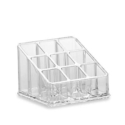 Home Basics Small Cosmetic Organizer in Clear