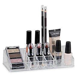 Home Basics® Medium Makeup Organizer in Clear