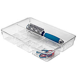 InterDesign® Rain 4-Compartment Tray in Clear