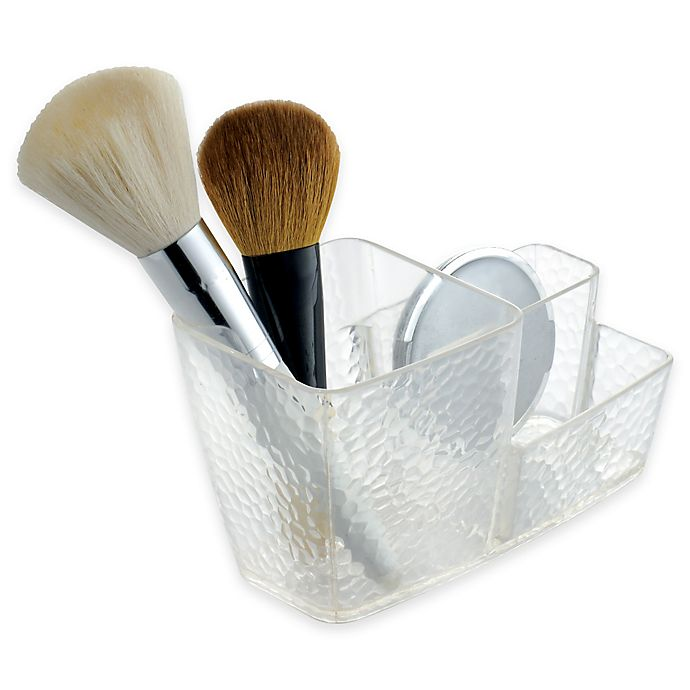 Alternate image 1 for InterDesign® Rain Brush Caddy in Clear