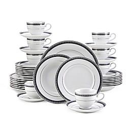 Mikasa® Platinum Crown 40-Piece Dinnerware Set in Cobalt