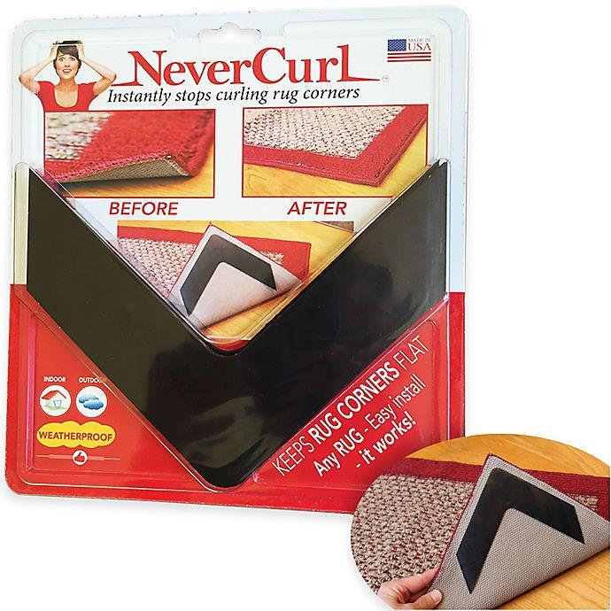 Indoor/Outdoor Anti-Curl Rug Corners
