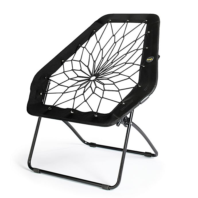 Bunjo 174 Oversized Bungee Hex Chair In Black Bed Bath Amp Beyond
