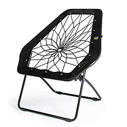 Bunjo® Oversized Bungee Hex Chair in Black