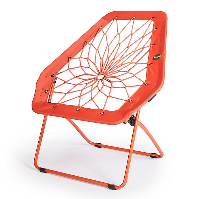 Bunjo® Oversized Bungee Hex Chair in Vermillion | Bed Bath ...