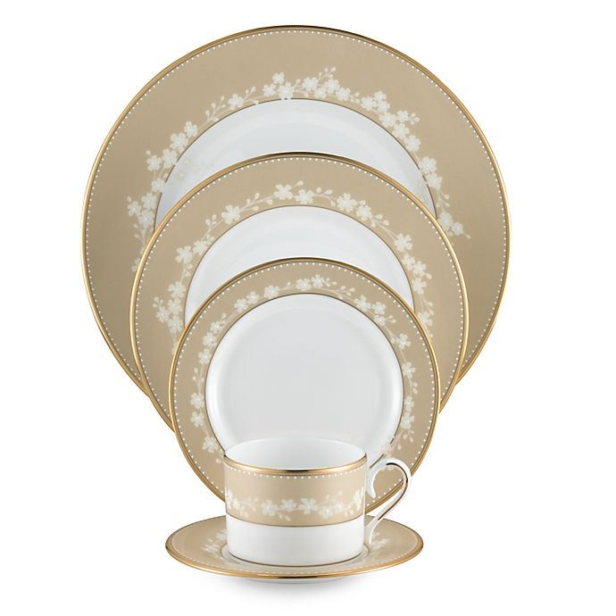 Alternate image 1 for Lenox® Bellina® Gold Dinnerware
