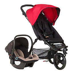 Mountain Buggy® Mini Compact Travel System in Berry