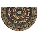 Mohawk  Home® Mosaic Mythos 23-inch x 35-inch Recycled Rubber Slice Door Mat