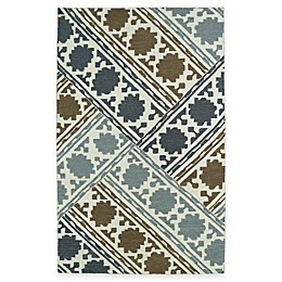Kaleen Glam Basketweave Rug