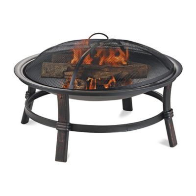 Uniflame 174 Endless Summer 174 Wood Burning Outdoor Fire Pit In