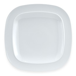 Denby Square 11 1/2-Inch Dinner Plate in White