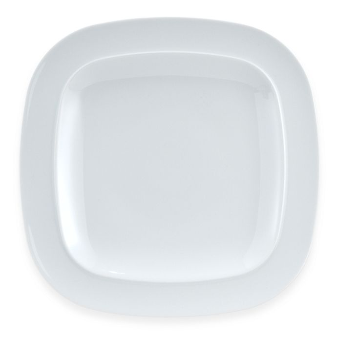 Alternate image 1 for Denby Square 11 1/2-Inch Dinner Plate in White