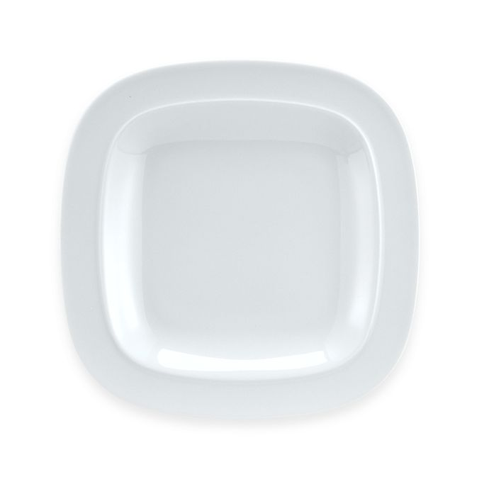 Alternate image 1 for Denby Square 9 1/2-Inch Salad Plate in White