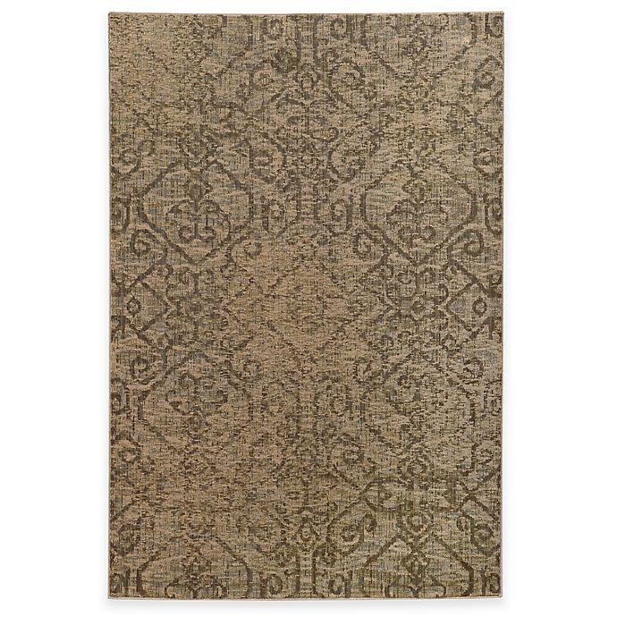 Alternate image 1 for Oriental Weavers Heritage Tribal Geometric 6-Foot 7-Inch x 9-Foot 6-Inch Rug in Beige