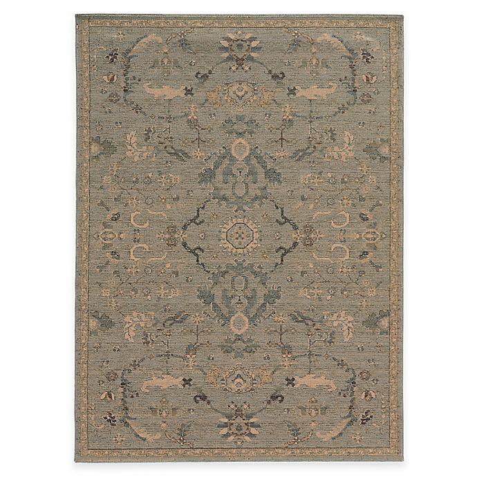Alternate image 1 for Oriental Weavers Heritage Oriental 9-Foot 10-Inch x 12-Foot 10-Inch Area Rug in Blue