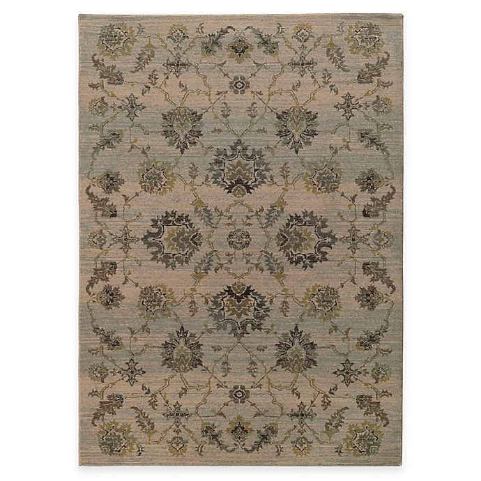 Alternate image 1 for Oriental Weavers Heritage Traditional Floral 9-Foot 10-Inch x 12-10 Inch Area Rug in Ivory