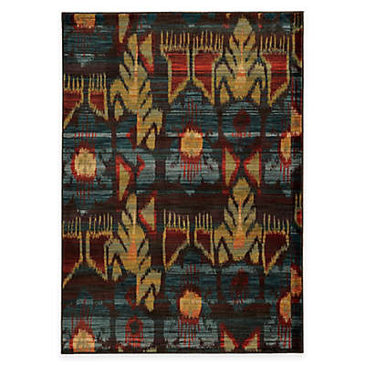 Oriental Weavers Sedona Rug in Brown Multi