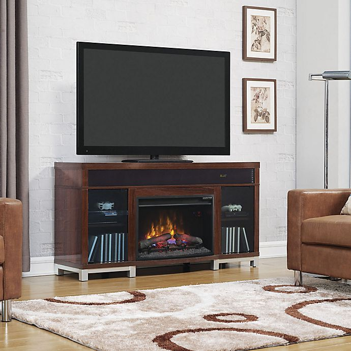 Bell O 174 Roxbury 59 5 Inch Electric Fireplace Media Console