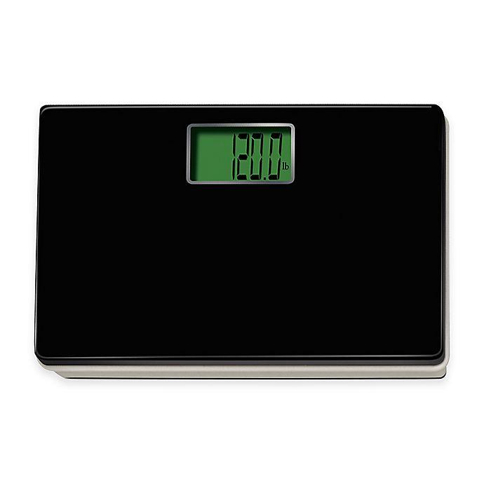 Digital Talking Regular Size Bathroom Scale In Black