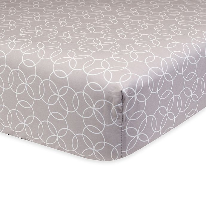 Alternate image 1 for Trend Lab® Circles Fitted Crib Sheet