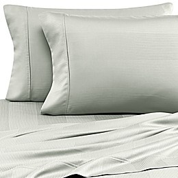 Eucalyptus Origins™ Tencel® Lyocell 500-Thread-Count Stripe Pillowcases (Set of 2)