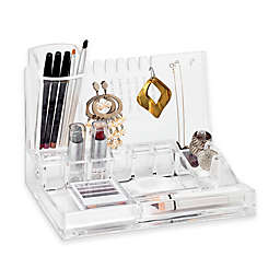 Deluxe Cosmetic and Jewelry Holder in Clear