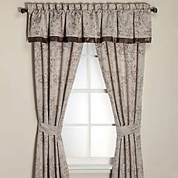 Manor Hill® Serenade Window Curtain Panel and Valance