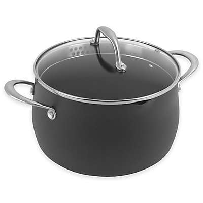 Oneida® Hard Anodized Nonstick 5 qt. Covered Casserole
