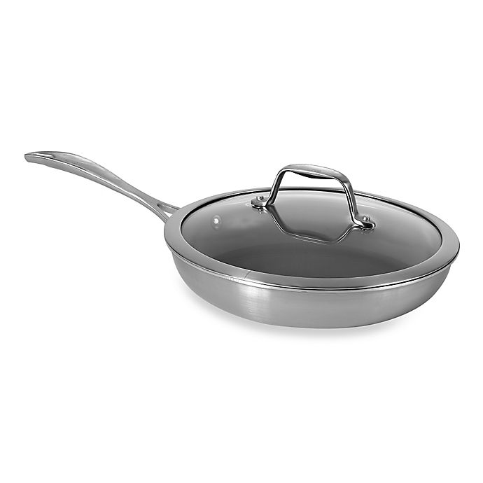 Alternate image 1 for Zwilling J.A. Henckels Spirit 9.5-Inch Ceramic Coated Nonstick Covered Fry Pan