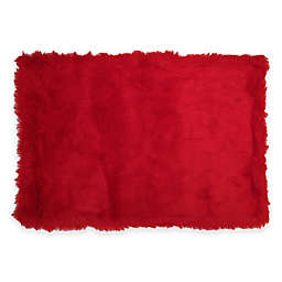 Fun Rugs® Flokati Rug in Red