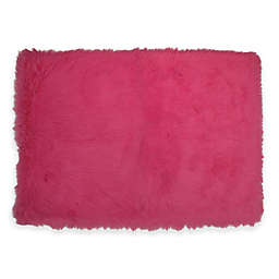 Fun Rugs® Flokati Rug in Hot Pink