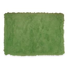 Fun Rugs™ Flokati Rug in Lime Green