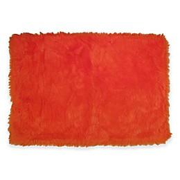 Fun Rugs™ Flokati Rug in Orange