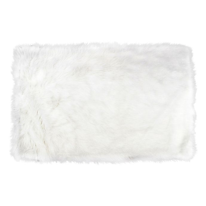 Alternate image 1 for Fun Rugs™ 3-Foot 3-Inch x 4-Foot 10-Inch Flokati Rug in White