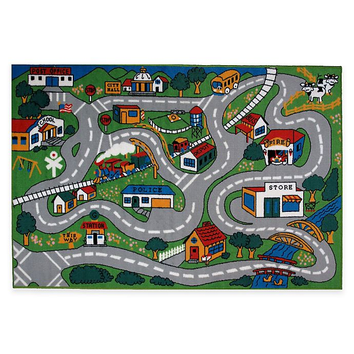 Alternate image 1 for Fun Rugs™ Country Fun 5-Foot 3-Inch x 7-Foot 6-Inch Area Rug