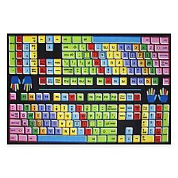 Fun Rugs® Keyboard Area Rug