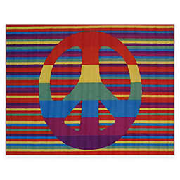 Fun Rugs® Groovy Peace Accent Rug