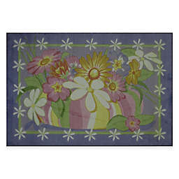 Fun Rugs Wildflowers 3-Foot 3-Inch x 4-Foot 10-Inch Area Rug