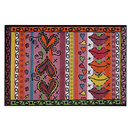 Fun Rugs Sassy 3-Foot 3-Inch x 4-Foot 10-Inch Area Rug