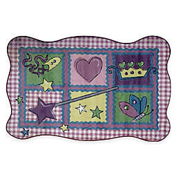 Fun Rugs™ Fairy Quilt 3-Foot 3-Inch x 4-Foot 10-Inch Accent Rug in Purple