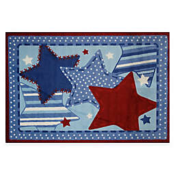 Fun Rugs™ Denim Dreams 3-Foot 3-Inch x 4-Foot 10-Inch Accent Rug
