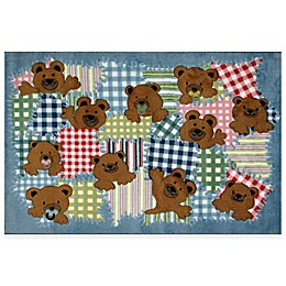Fun Rugs™ Patches 3-Foot 3-Inch x 4-Foot 10-Inch Area Rug